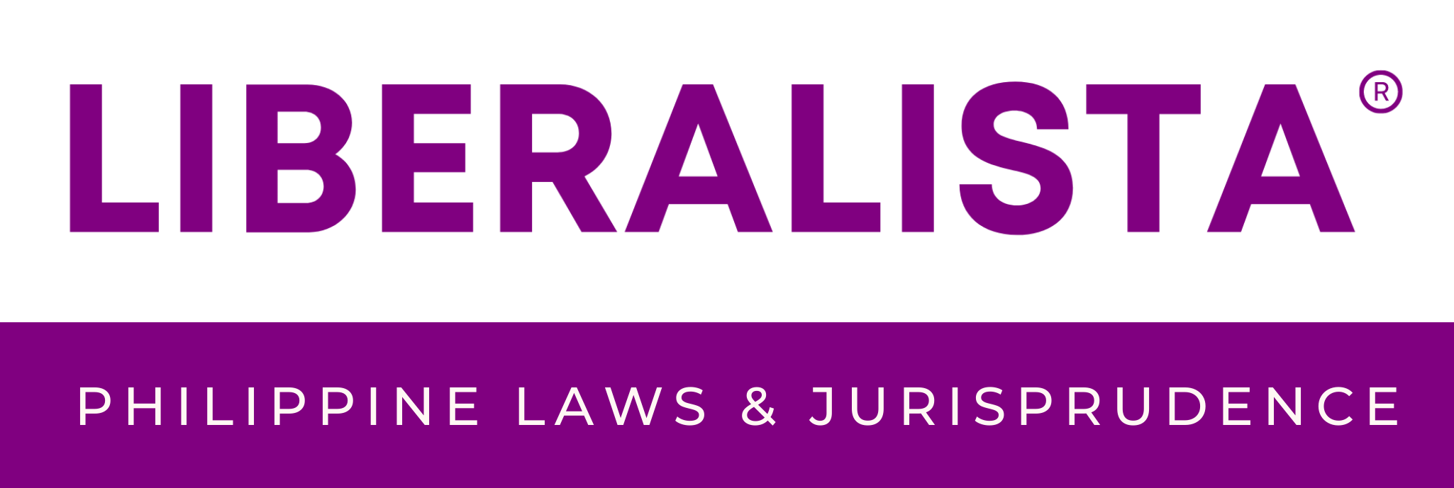 LIBERALISTA: Laws and Jurisprudence.